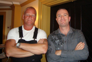 Darren and Mike Holmes